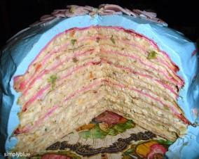 солен торта (разрез)